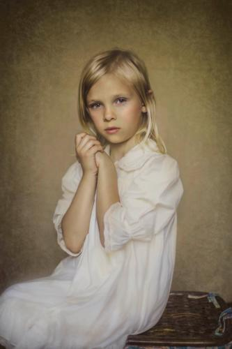 girl fine art portrait